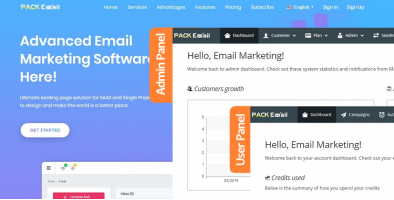 Pack Email Marketing Automation Web Application