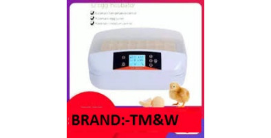 TM&W Best Automatic 32 Digital Clear Egg Incubator Hatcher, 80W Egg