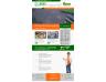 Static responsive custom website design